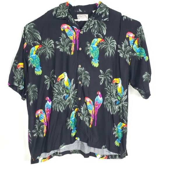 Thumbs Up Other - Vintage Thumbs Up Parrot Shirt